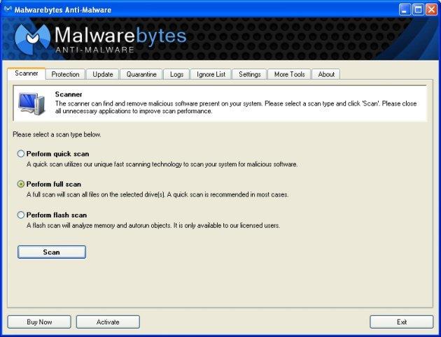 obrázek pro Malwarebytes Anti Malware