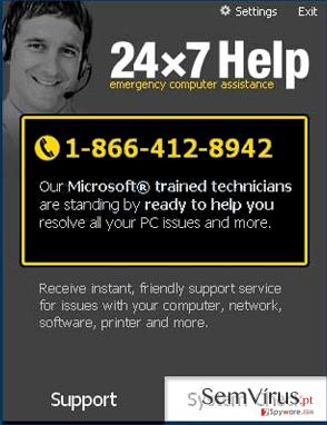 obrázek pro 24×7 Help