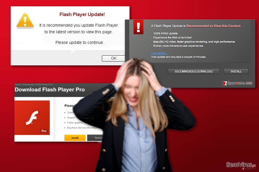 virus Flash Player Pro