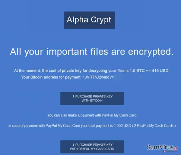obrázek pro Alpha Crypt virus