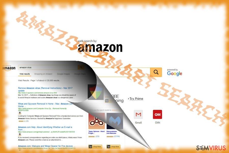 obrázek pro Amazon Smart Search