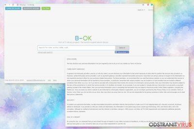 Webová stránka B-ok.org