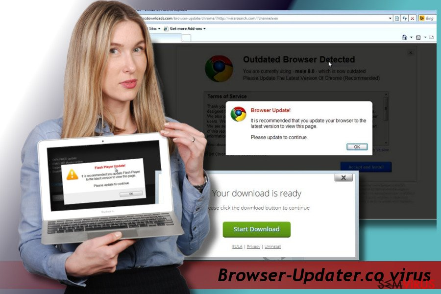 Browser-Updater.co pop-up virus