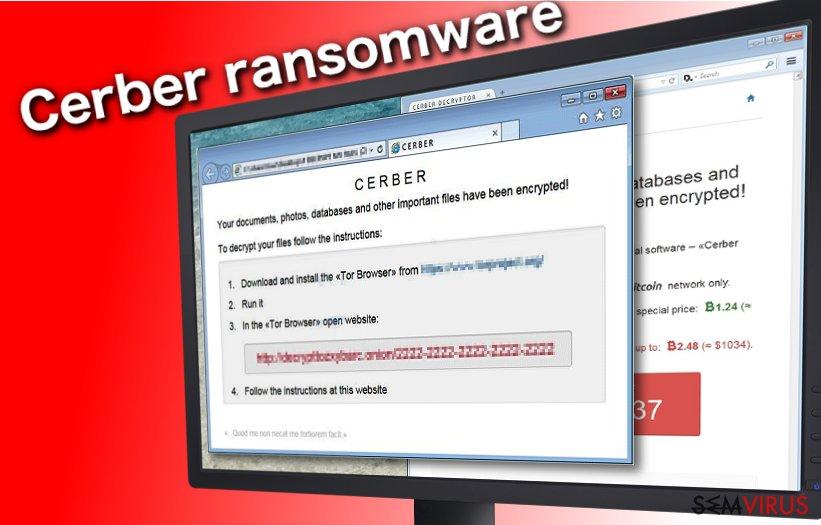 Cerber ransomware