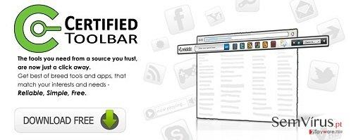 obrázek pro Lišta Certified Toolbar