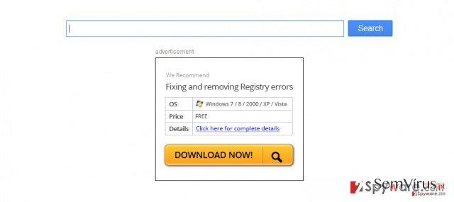 obrázek pro přesměrovávací virus pro Firefox