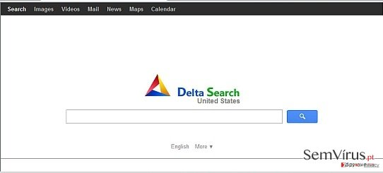 obrázek pro Přesměrování na delta-search.com