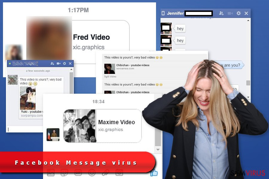 Facebook Message virus