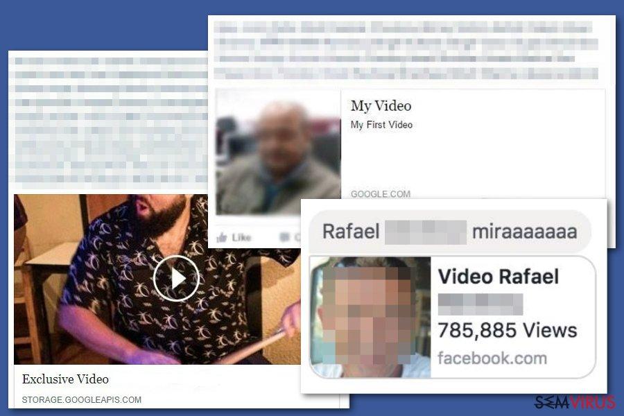 obrázek pro Facebook video virus