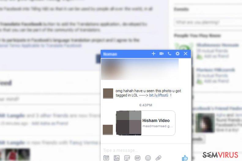 Facebookový virus