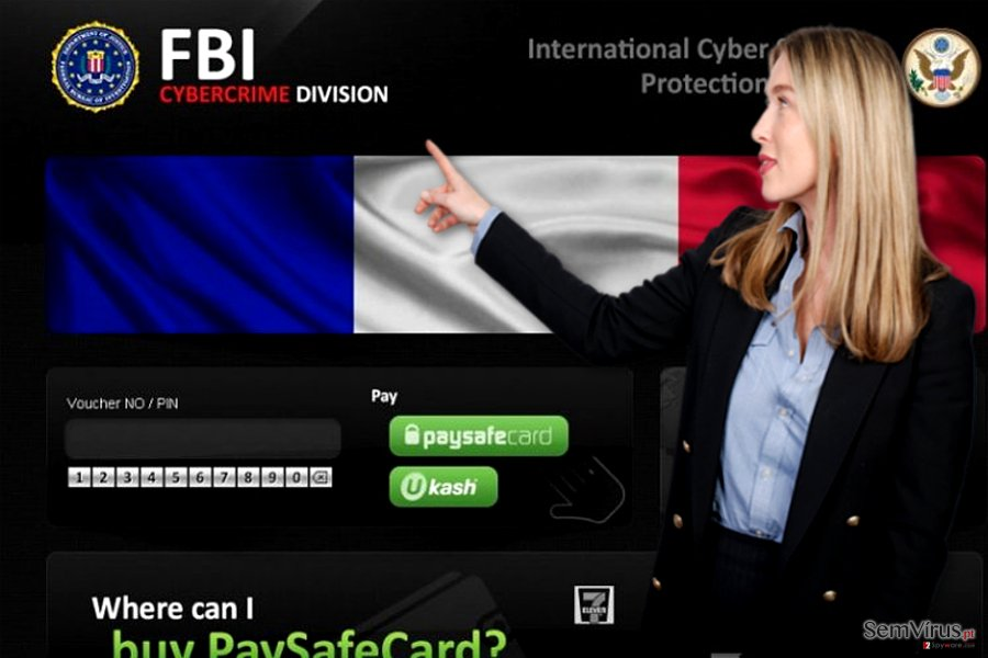 obrázek pro virus FBI Cybercrime Division