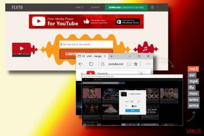 Virus Flvto Youtube Downloader
