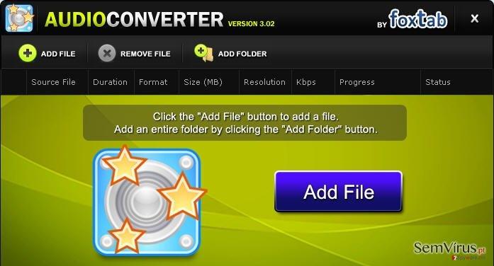 obrázek pro FoxTab Audio Converter