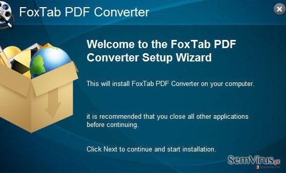 obrázek pro FoxTab Pdf Converter