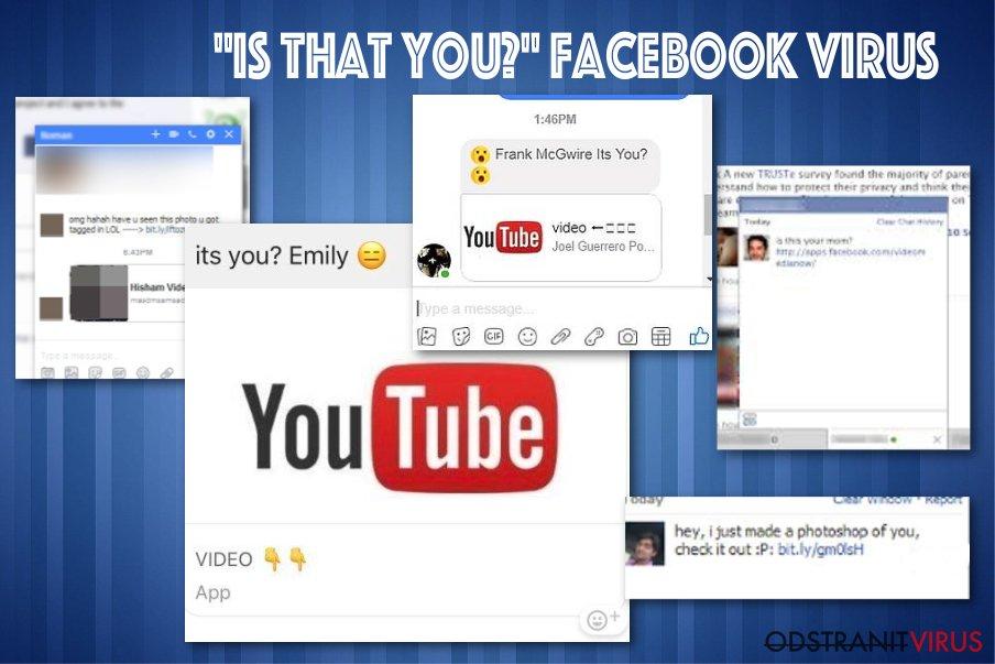 "Virus facebookového messengeru ""Jsi to ty?"""