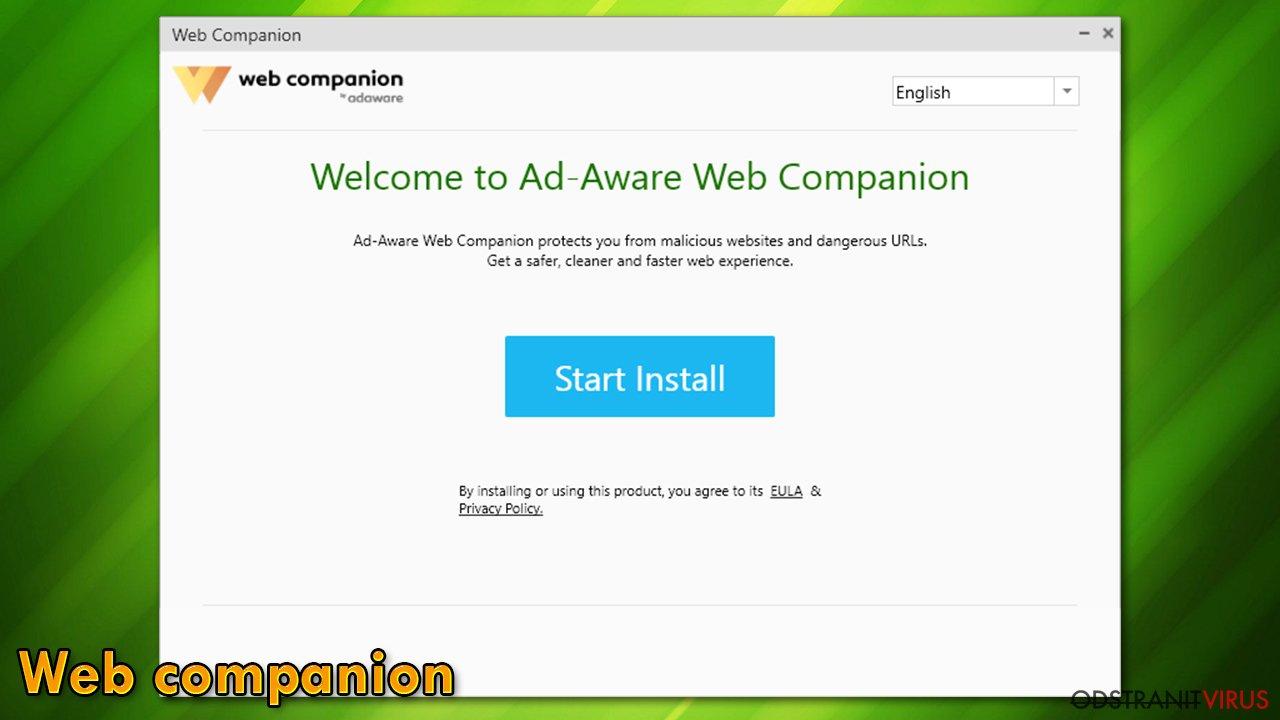 Instalátor Web Companion